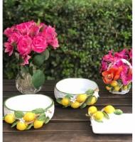Bowl cerâmica limão siciliano
