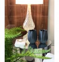 Vaso de porcelana fosco Tulipa M