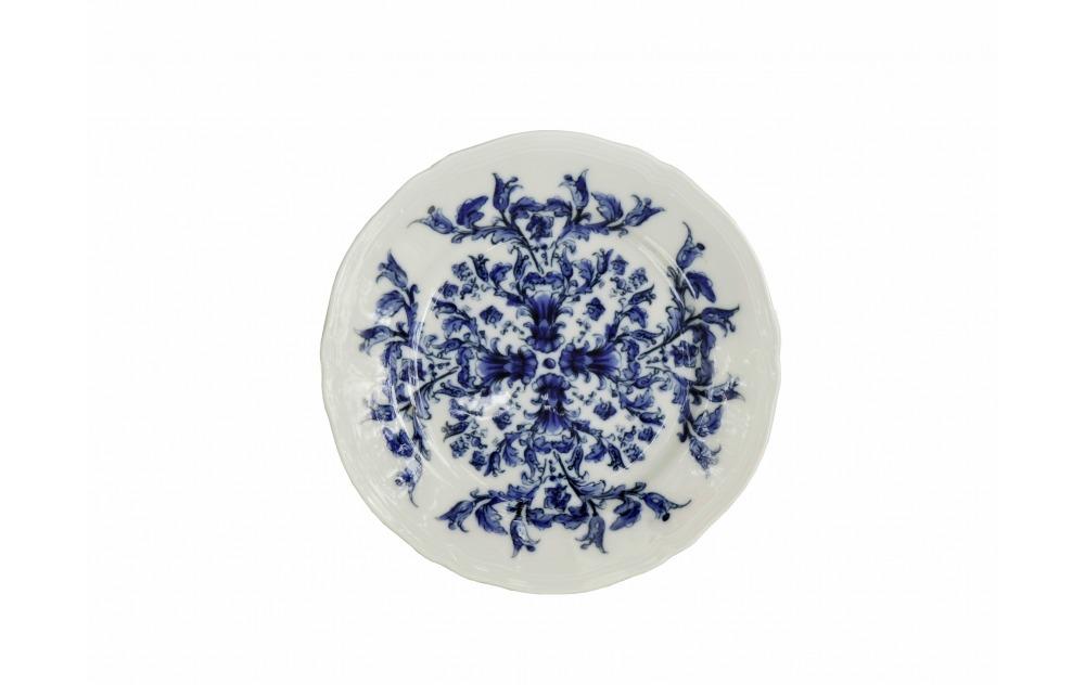 Prato redondo P azul Babele Richard Ginori