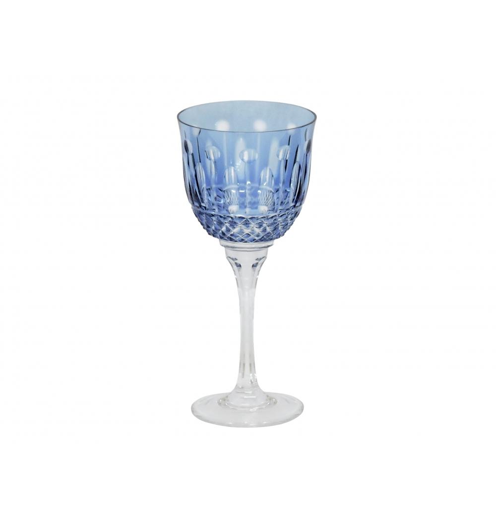 Taça Cristal Mozart Azul Claro Para Vinho Branco